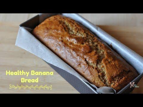 وصفة كيكة الموز الصحية Murmur Blog Youtube Banana Healthy Healthy Banana Bread Banana Bread