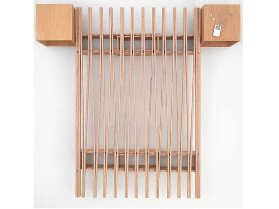 Sommier extensível de faia V by Tojo Möbel   design Roy Schäfer