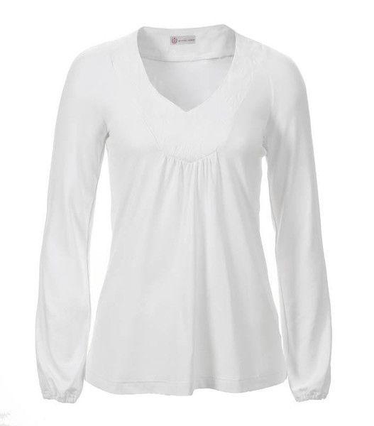weites weißes Langarmshirt von HORN  auf DaWanda.com
