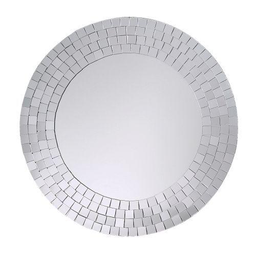 TRANBY Espejo IKEA Hecho a mano. Cada espejo es único. Puede usarse en zonas con mucha humedad.