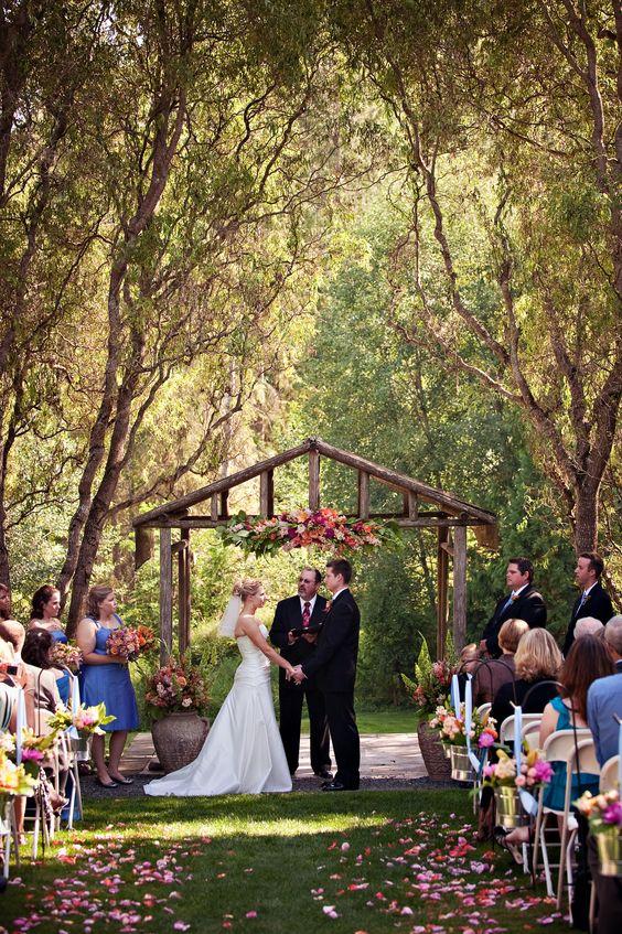 Beautiful Garden Wedding Ideas: Jardin Del Sol- Snohomish, WA