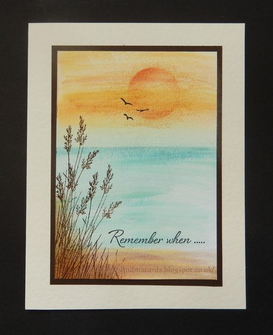 Sandma's Handmade Cards: Inkylicious Wild Grass
