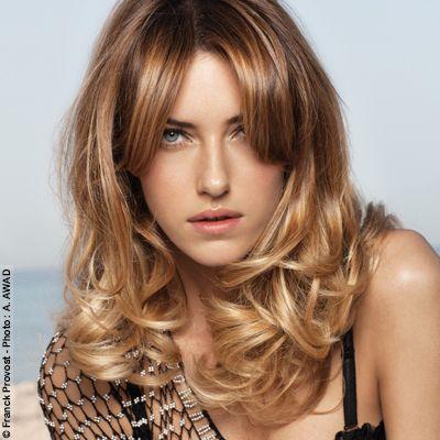 Franck provost ambre v nitien styles de coiffure pinterest carr s longs site internet - Balayage blond venitien ...
