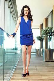 robe chic bleu marine