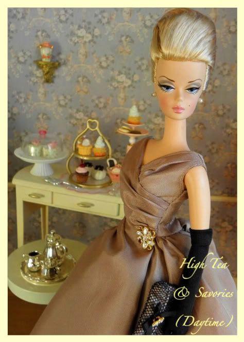 High Tea & Savories {day}: Highteasavories44Crop 2 1 Jpg, Barbie Clothes, Barbie Collector, Barbie Dioramas, Barbie Cos, High Teas, Barbie Collectibles, Barbie, Barbie Doll