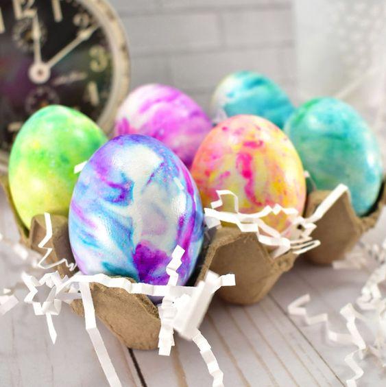 eieren marmeren