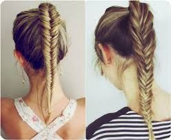 Peachy Cool Easy Hairstyles Easy Hairstyles And Fishtail On Pinterest Hairstyles For Women Draintrainus