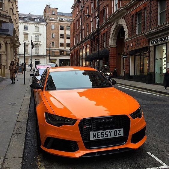 Who needs  when you can drive this  ? Vivid Audi colors: #Samoaorange and…
