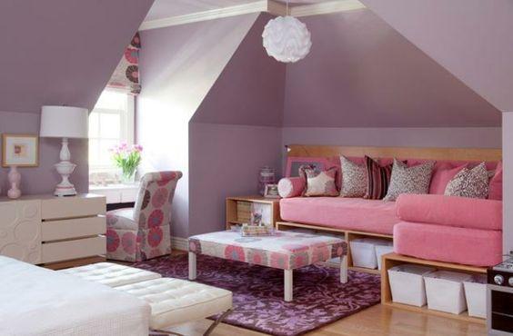 teenager zimmer m dchen lila ideen blumen zimmer ideen pinterest teenager lavendelzimmer. Black Bedroom Furniture Sets. Home Design Ideas