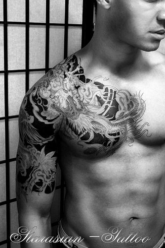 IStarasian Tattoo Art - Chris Dragon vs Phoenix 5 | Inked by… | Flickr