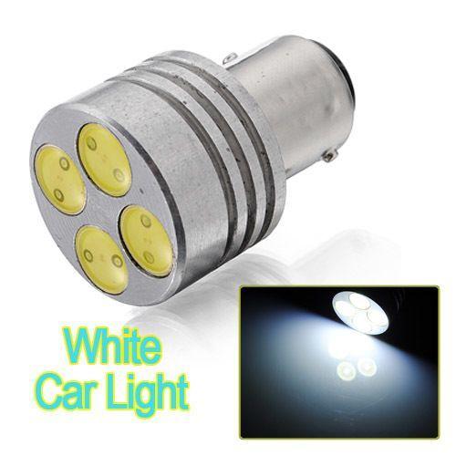 H, CAR S25 1157 HID Xenon SMD LED Bulb 4W 4 SMD LED Light