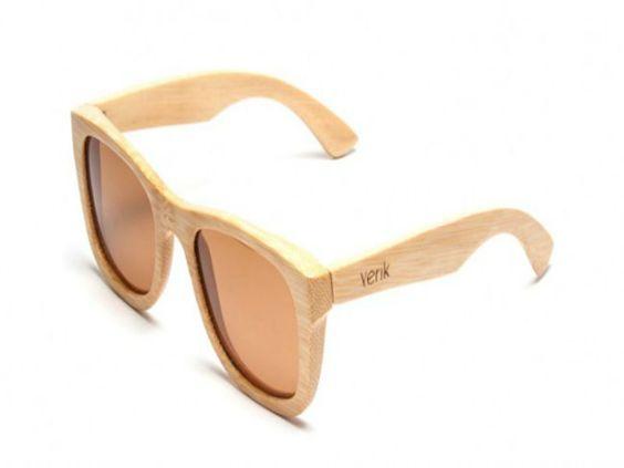 Fabricados com galhos de madeira reflorestada certificada, os óculos Yerik , são ecologicamente corretos por utilizarem o bambu do sudoeste da Ásia em sua composição.