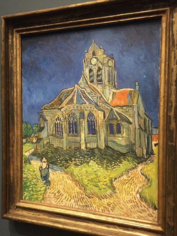 L églises d au vers sur Oise, vue du chevet