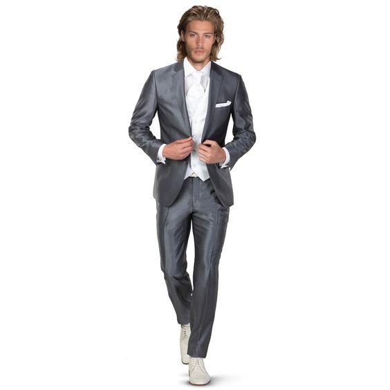 alexander alesi trouwkostuums grijs - Mode voor mannen die gaan trouwen ROKA