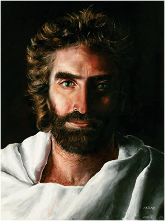 Akiane Kramarik, PRINCE OF PEACE, Age 8 (2003). If you've watched the CNN video on her, her parents were not religious and did not teach her about religion.