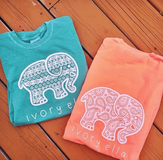 I love these ivoryella shirts. Especially the one with the paisley print on it
