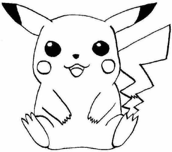 pokemonkleurplaten pickachu http www kleurplaat