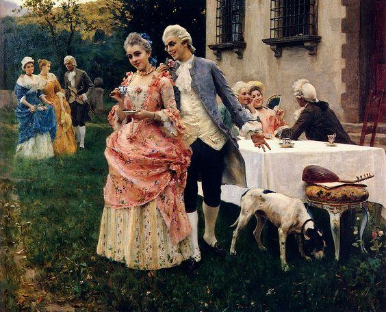 Man seeking women tea party