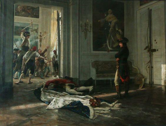 Bonaparte aux Tuileries by Maurice Realier-Dumas
