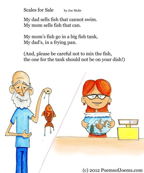 Funny Poems For Kids Tagged Fish Poem Fisherman Mom And ...