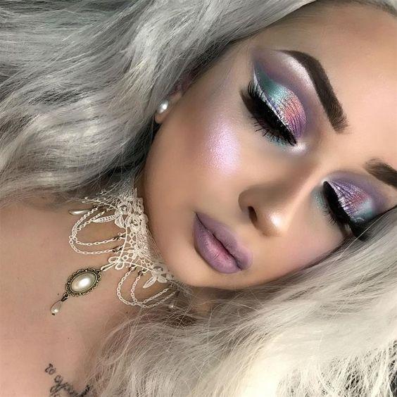 Mermaid makeup?!