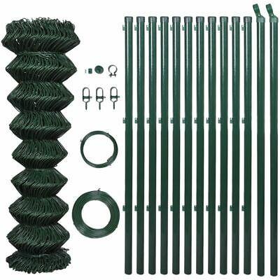 Galvanised Chain Mesh Fence Post Set 1 25x25m Wire Garden Fencing Pet Chicken 8718475849360 Ebay Chain Fence Mesh Fencing Garden Mesh