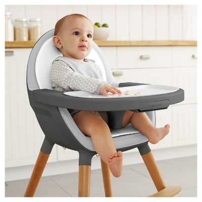 Skip Hop Tuo Convertible High Chair, White | High chair