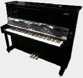 """Kawai 48"""" Studio Piano in Ebony Polish"""