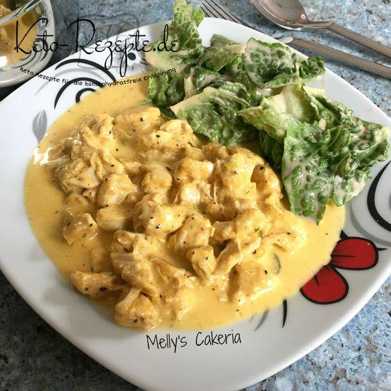 Saftige Hähnchengeschnetzeltes mit deftig cremiger Chili-Käsesoße, Mmmh! Chili Cheese Chicken, das Beste aus der Ketoküche auf Keto-Rezepte.de!