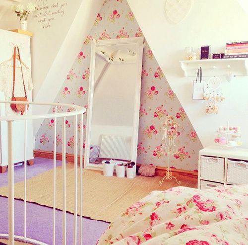 Imagem de room, pink, and bedroom