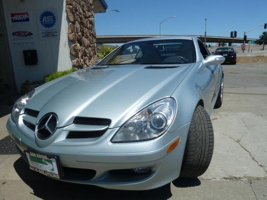 Convertible 2005 Mercedes Benz Slk 350 With 2 Door In San Rafael