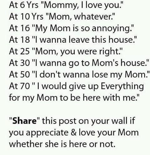 sooo truee! i love my mama!: Miss My Mom, I Love You, Love You Mom, Mother S, So True, Quotes Sayings, Favorite Quotes, Love My Mom
