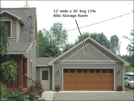 Pole Barn Garage Attached With Small Breezeway Barn
