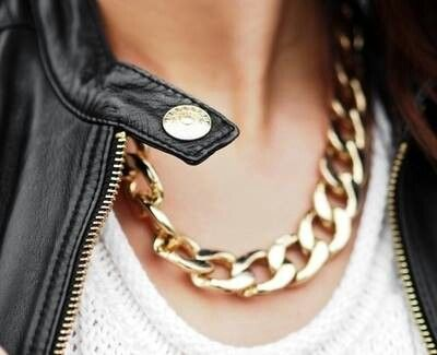 My style.  Accessories in gold