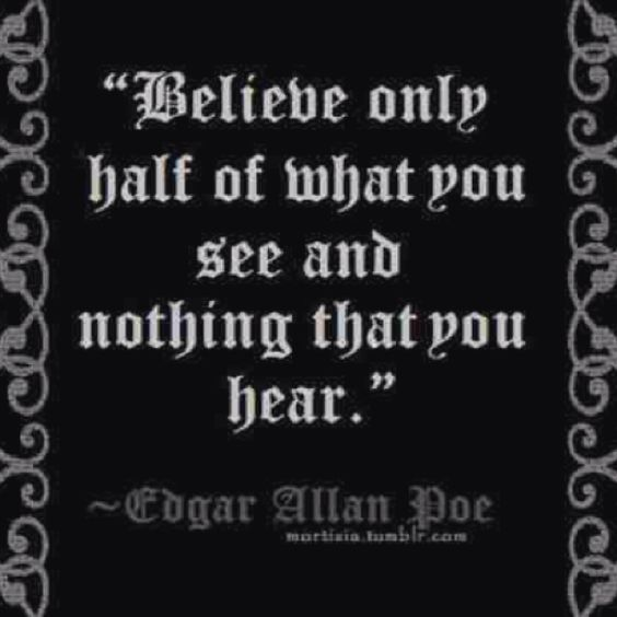 Edgar Allan Poe Quotes: Edgar Allen Poe, Poe Quotes And What You See On Pinterest