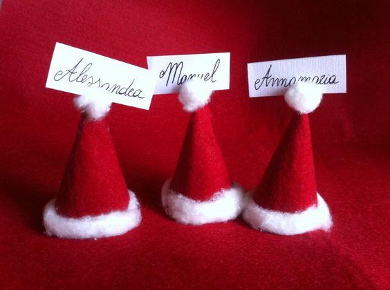 Segnaposto Natalizi Cartoncino.Segnaposto Per La Tavola Di Natale 15 Idee Fai Da Te Fai Da Te Creativo