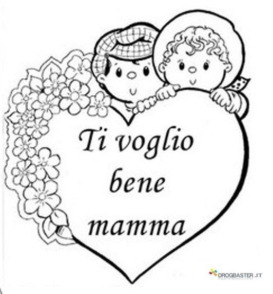 Speciale Festa Della Mamma Disegni Gratis Per Bambini Da Stampare