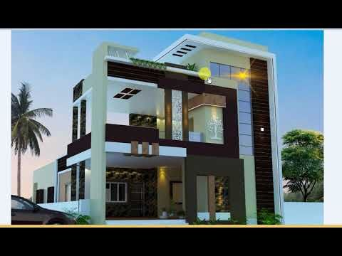 Modern Style Indian Home Front Elevation Design Modern Exterior House Designs Front Elevation Designs House Designs Exterior