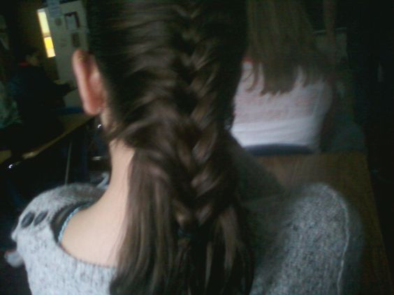 my best french braid ever