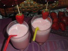Milk shake à la fraise et grenadine - Univers de Hayat
