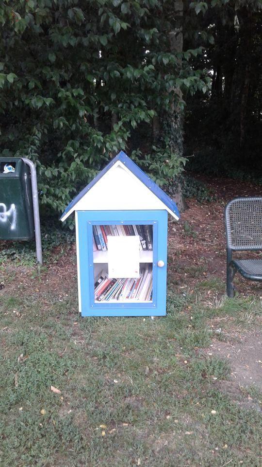 Boekenruilkast Beernem Bargepark