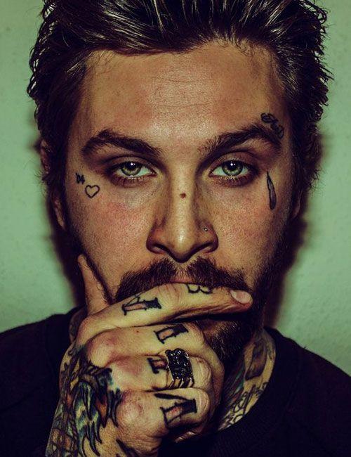 101 Badass Face Tattoos For Men Cool Designs Ideas 2019 Guide Mens Face Tattoos Teardrop Tattoo Face Tattoos