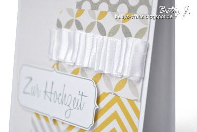 Bettys Crafts: Zur Hochzeit - die zweite
