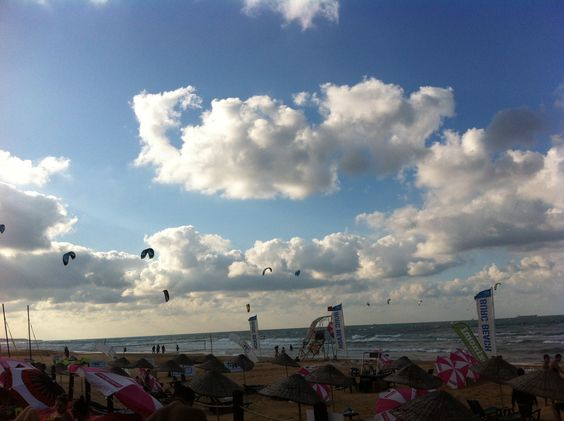 Kitesurfing @BurcBeachKilyos