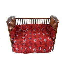 University of South Carolina Gamecocks 5 Piece Baby Crib Bedding Set