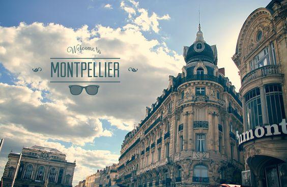 Balade dans les rues de Montpellier