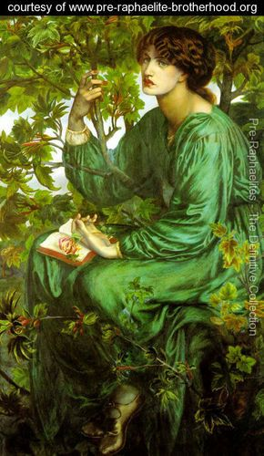 The Day Dream 1880 - Dante Gabriel Rossetti - www.pre-raphaelite-brotherhood.org...Love The Detail In This Painting