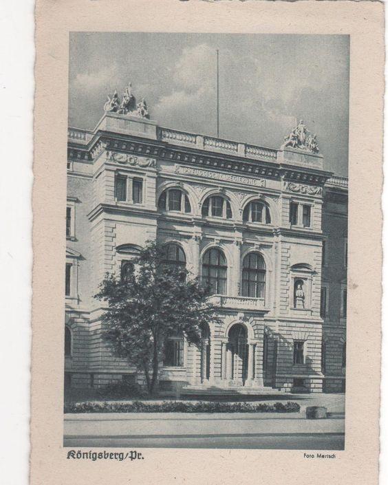 Königsberg / Pr. - Preußische Regierung