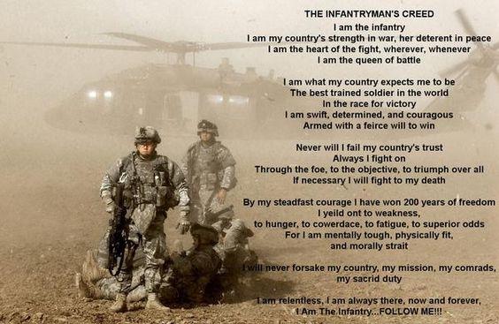 Infantry.
