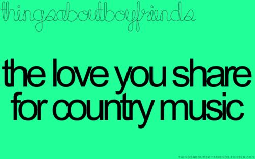 I want a country boy <3